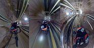 Taksim Füniküler tünelinden bisikletle...
