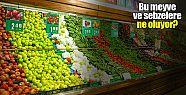 Tarladan çıkan meyve ve sebzeler sofraya...