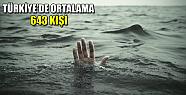 Türkiye'de her yıl boğulma sayısında...