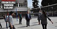 Vali Tuna Gazi Lisesi'ni ziyaret etti