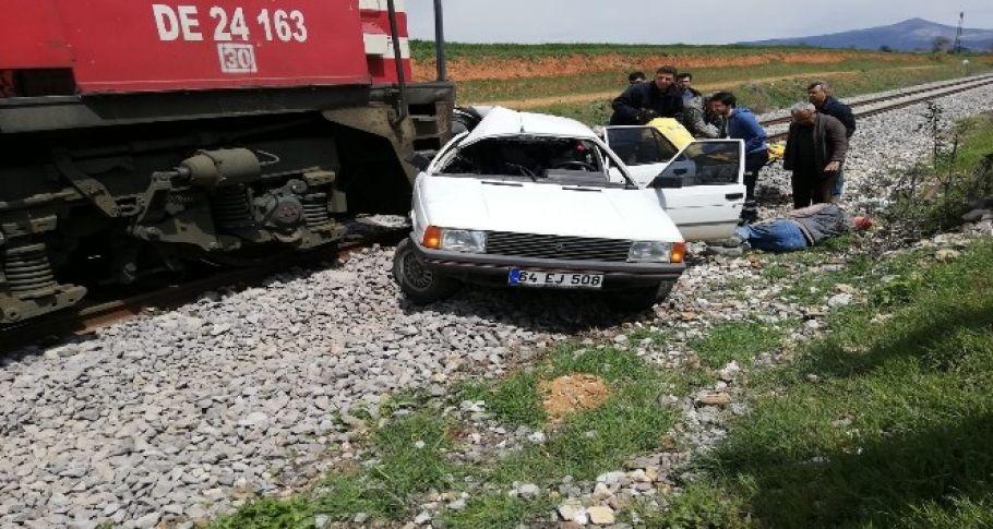 Tren kazası: 2 ağır yaralı