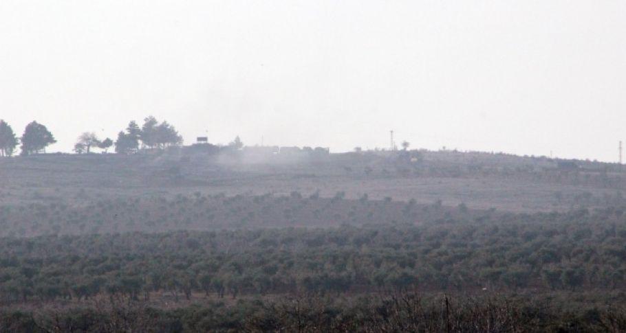 TSK, Afrin'de PYD mevzilerini vurmaya başladı!