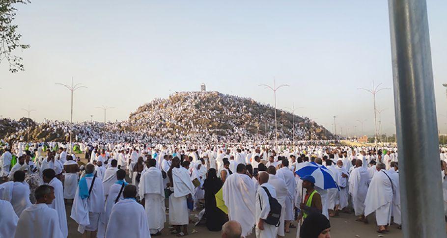 Tüm Hacı Adayları Arafat'ta