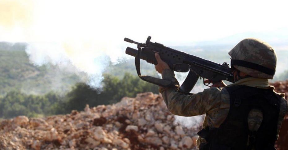 Tunceli'de 1 asker yaralı