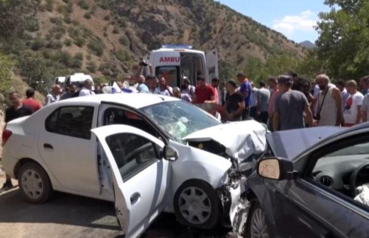Tunceli'de Feci Kaza: 1 Ölü, 7 Yaralı
