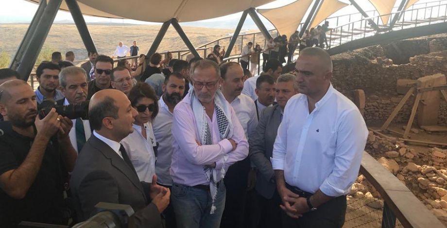 Kültür ve Turizm Bakanı Ersoy, Göbeklitepe'de