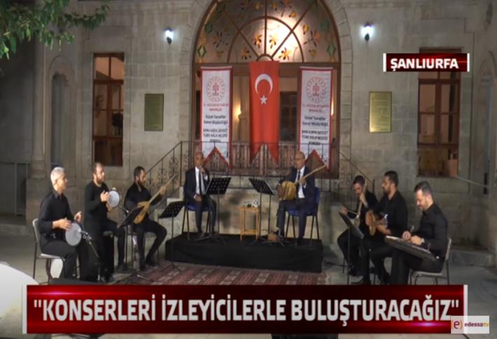 Türk Halk Müziği Edessa TV'de (Videolu)