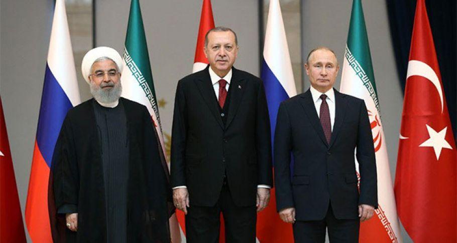 Türkiye, Rusya, İran Üçlü Zirvesi yarın gerçekleştirilecek