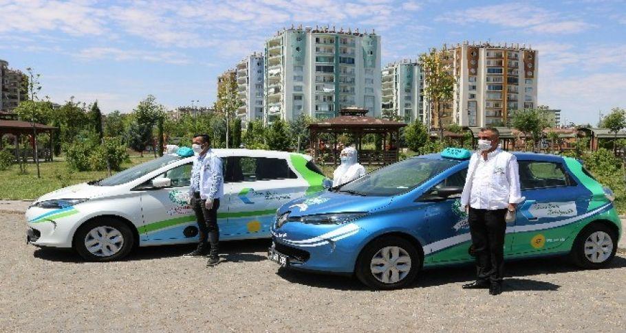 Türkiye'de bir ilk, Diyarbakır'da elektrikli otomobillerle vatandaşa ücretsiz ulaşım