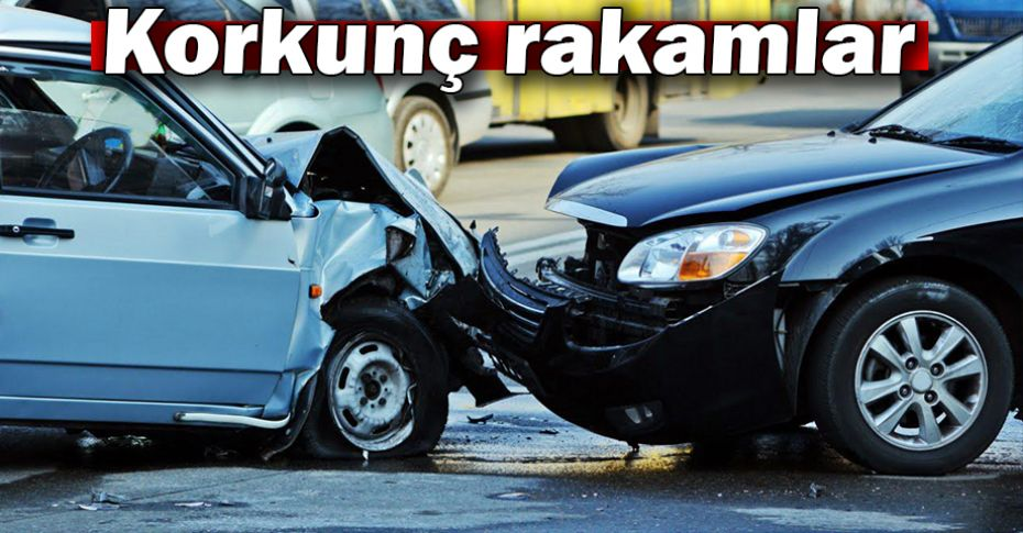 Türkiye'de son 10 yılda 9 milyon 807 bin 18 kaza oldu