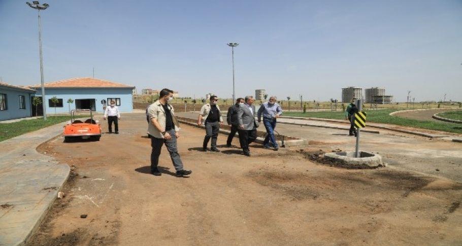 Türkiye'nin en büyük çocuk trafik eğitim parkı Şanlıurfa'da