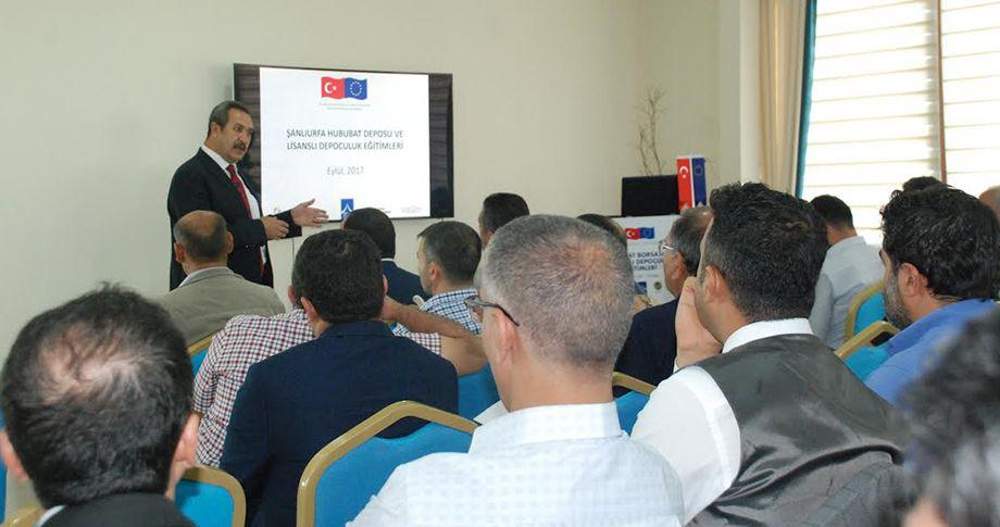 Türkiye'nin en büyük Lisanslı Depoları Şanlıurfa'da kuruldu