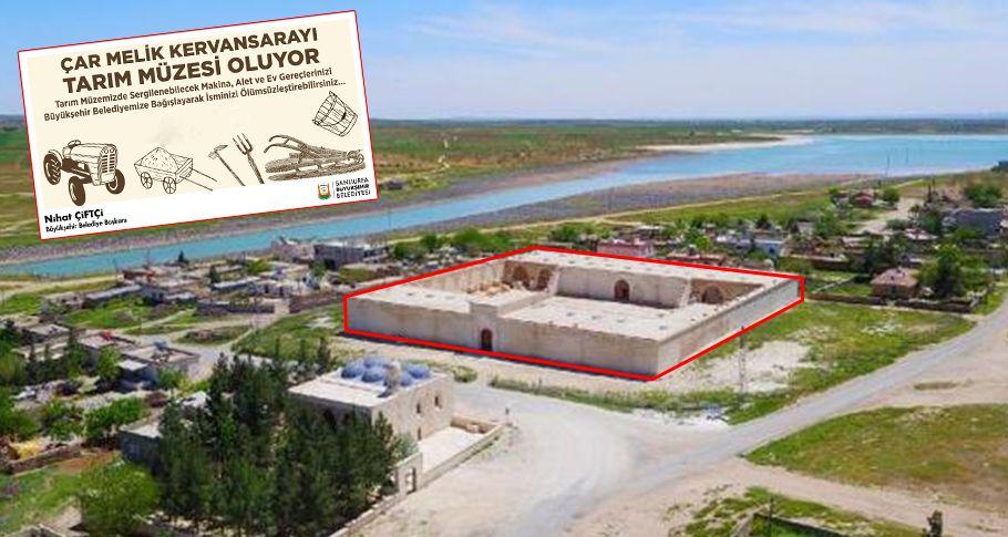 Türkiye'nin en büyük tarım müzesi Şanlıurfa'da kuruluyor