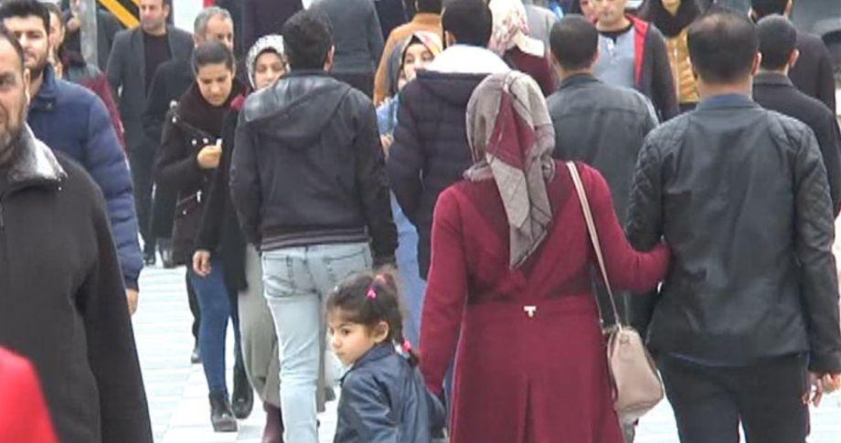 Türkiye'nin nüfusu açıklandı..