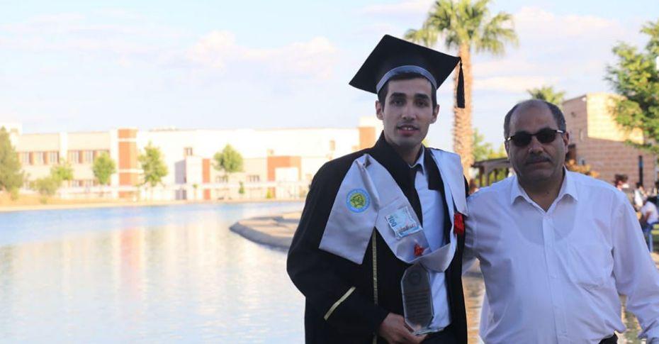 Türkmen, HRÜ Makine Mühendisliği bölümü 1.si oldu