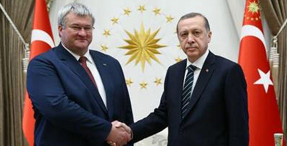 Ukrayna Büyükelçisi Şanlıurfa'ya geliyor