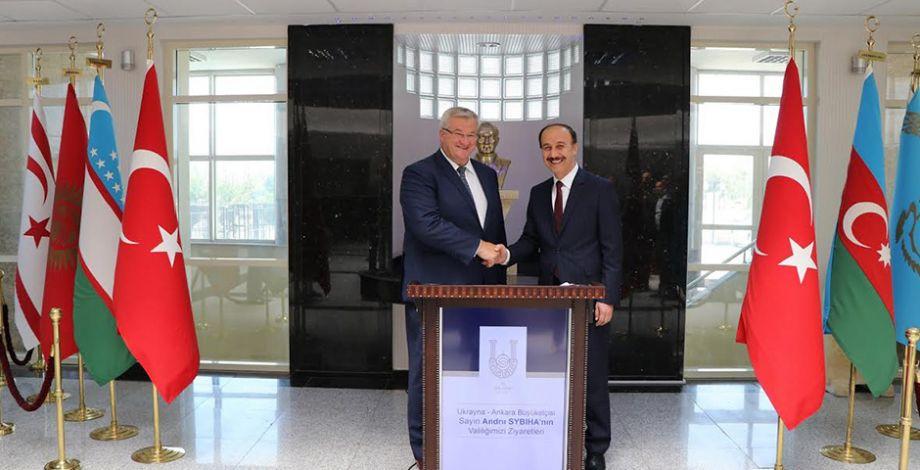 Ukrayna'nın Ankara Büyükelçisi Şanlıurfa'ya geldi