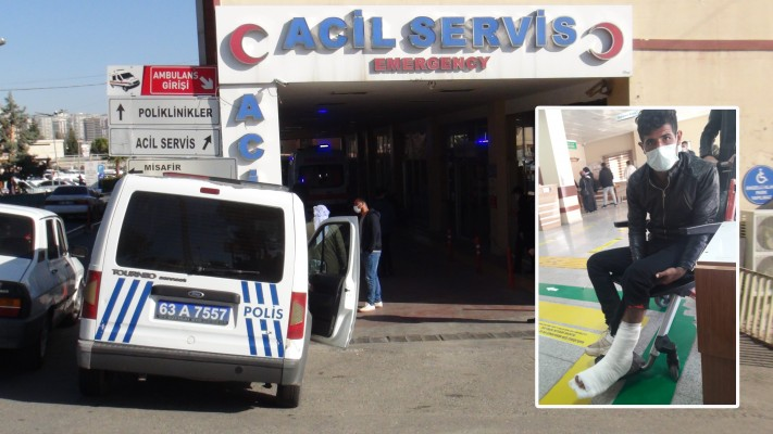 Urfa'da iş kazası: 1 yaralı