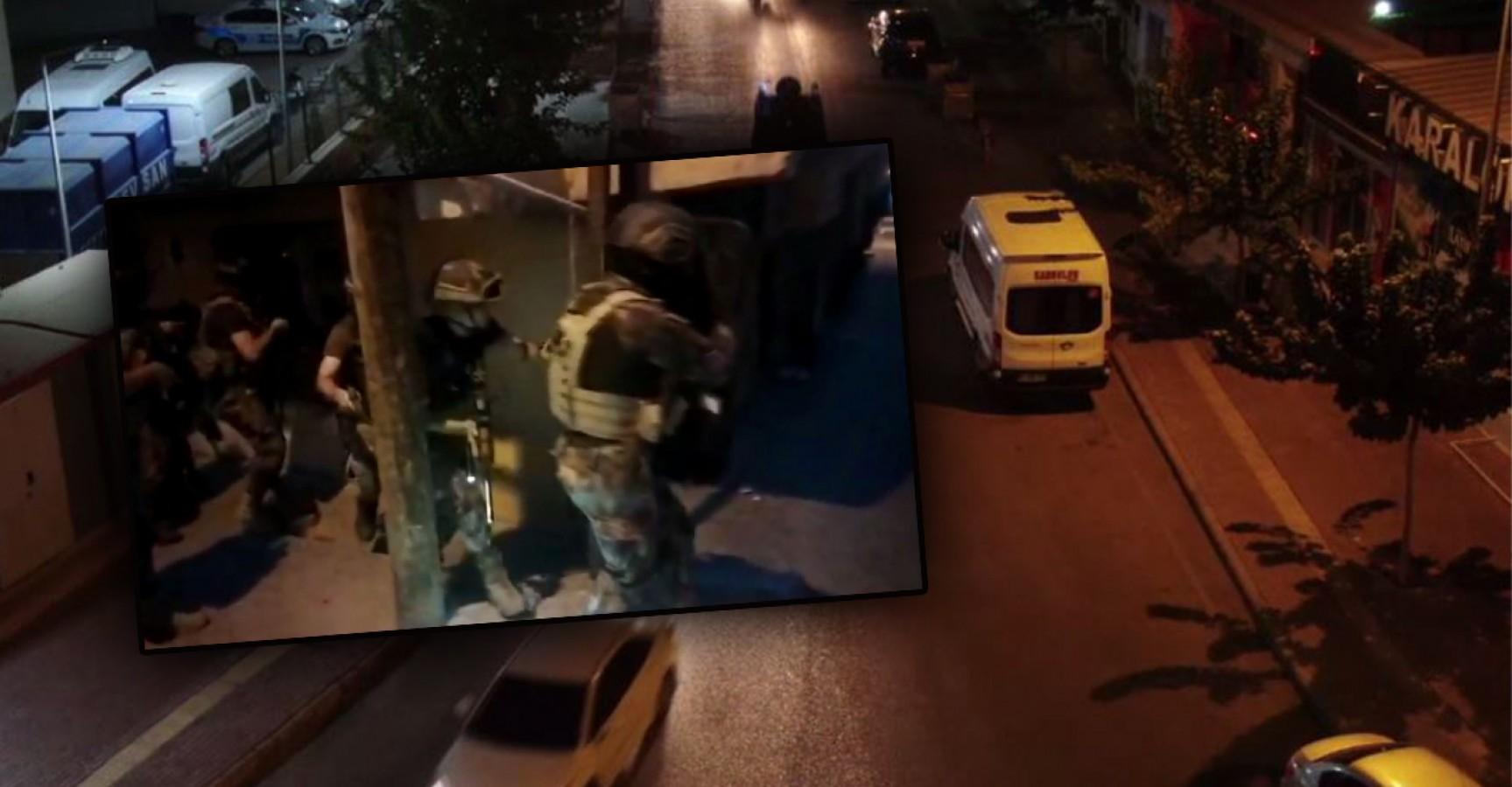 Haliliye ve Eyyübiye'de operasyon: 12 gözaltı