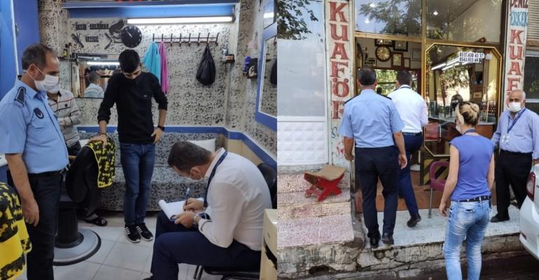 Urfa'da sıkı denetim: Karantinaya uymayanlar pansiyona alındı