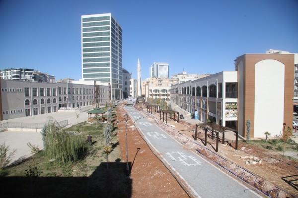 Urfa'da 'Yeşil Koridor Projesinde' sona gelindi