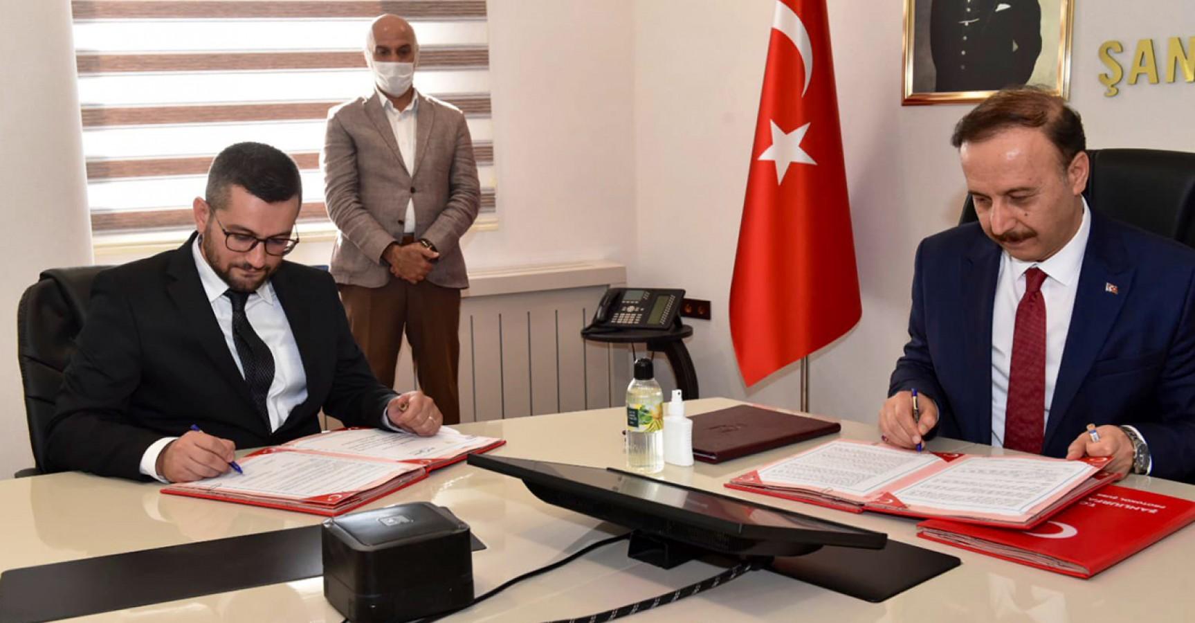 Urfa Valiliği ile MSYDD protokol imzaladı: Sığınmacılara insani yardım sağlanacak
