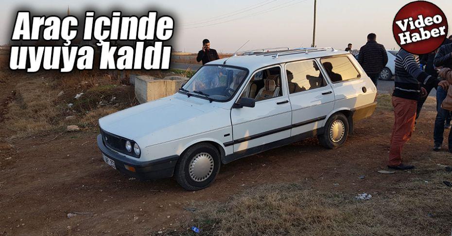 Urfa'da 3 Günde 4 mahalleden 4 otomobil çalındı!