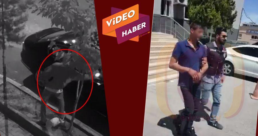 Urfa'da araç kundaklayan şahıs yakalandı