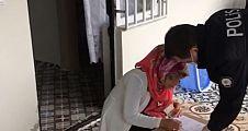 Şanlıurfa'da 1000 TL'lik Yardımlar Evlere Dağıtılmaya Başladı