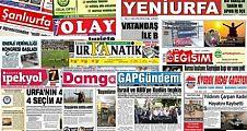 17 Temmuz Şanlıurfa Gazete Manşetleri
