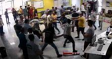 Şanlıurfa'da Hasta yakınları güvenlik görevlilerini darp etti