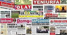 23 Mayıs Şanlıurfa Gazete Manşetleri