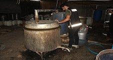Adana'da 7 ayda 22 bin 360 litre kaçak içki ele geçirildi