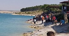Bozova'da Serinlemek için girdiği baraj gölünde boğuldu