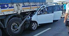 Feci kazada 3 ölü 2 yaralı