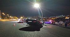 Şanlıurfa'da hızını alamayan araç takla attı