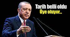 Cumhurbaşkanı Erdoğan AK Parti'ye ne zaman üye olacak?