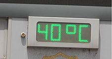 Termometreler 40 Dereceyi Gösterdi