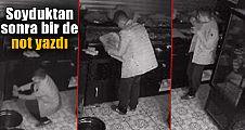 Adana'daki hırsız, pes dedirtti