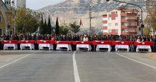 Ermenek'te maden işçilerine hüzünlü veda