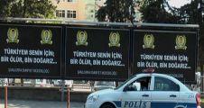 ŞANLIURFA'DA POLİSLER BİLBOARDLARLA DA ANILDI