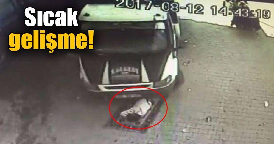 Üzerinden kamyonet geçen vatandaş ölmemiş!
