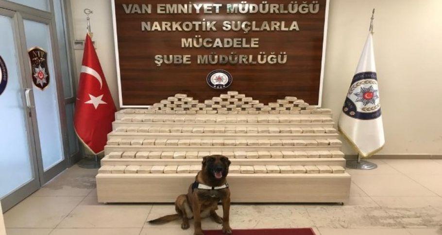 Van'da uyuşturucu operasyonu, 81 kilo eroin ele geçirildi