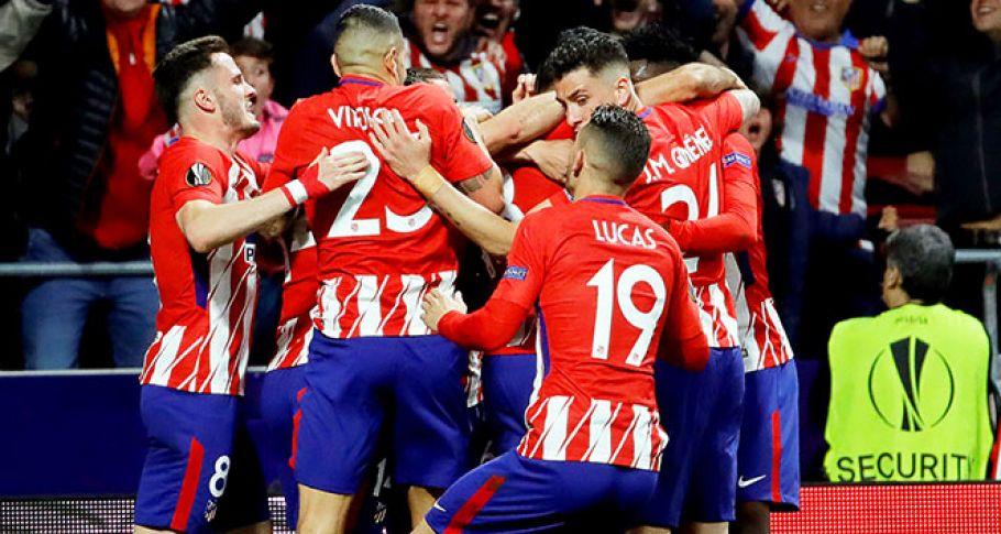 Ve kupa Atletico Madrid'in!