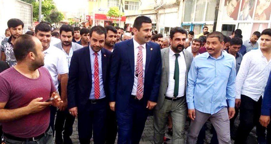 Vekil Adayları Suruç'ta seçim bürosu açılışını gerçekleştirdi