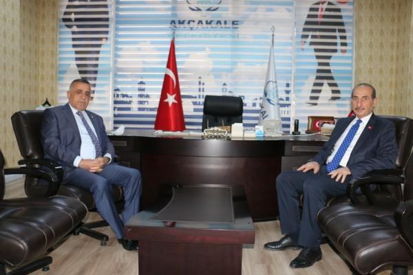 Vekil Akay'dan Akçakale Belediyesine ziyaret!