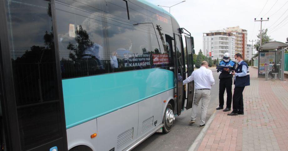 (videolu) Büyükşehir Belediyesin'den Özel Halk Otobüslerine Sıkı Denetim