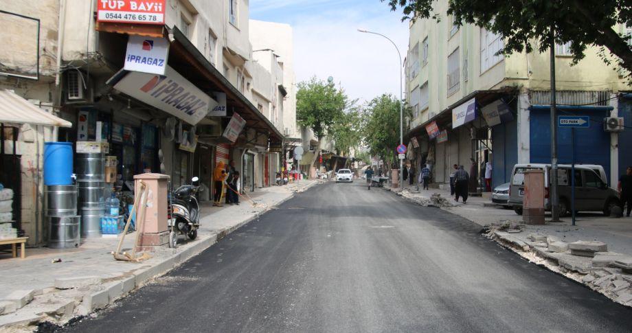 (videolu) Büyükşehir Meşarkiye Caddesini 96 Saatte Yeniledi
