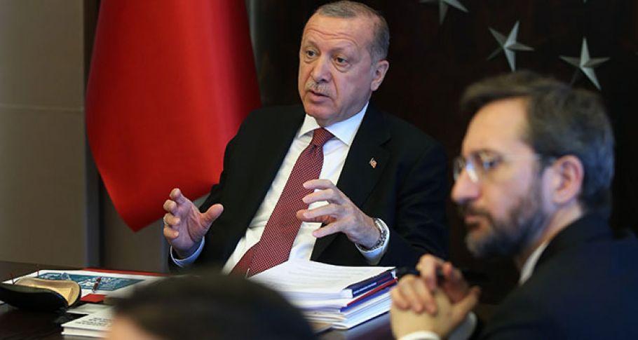 (Videolu) Cumhurbaşkanı Erdoğan'dan Sürpriz Görüşme