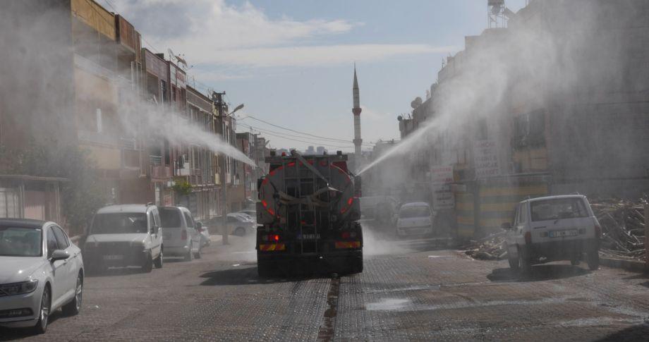 (videolu)Haliliye Belediyesi Halk Sağlığı İçin Girilmedik Sokak Bırakmıyor